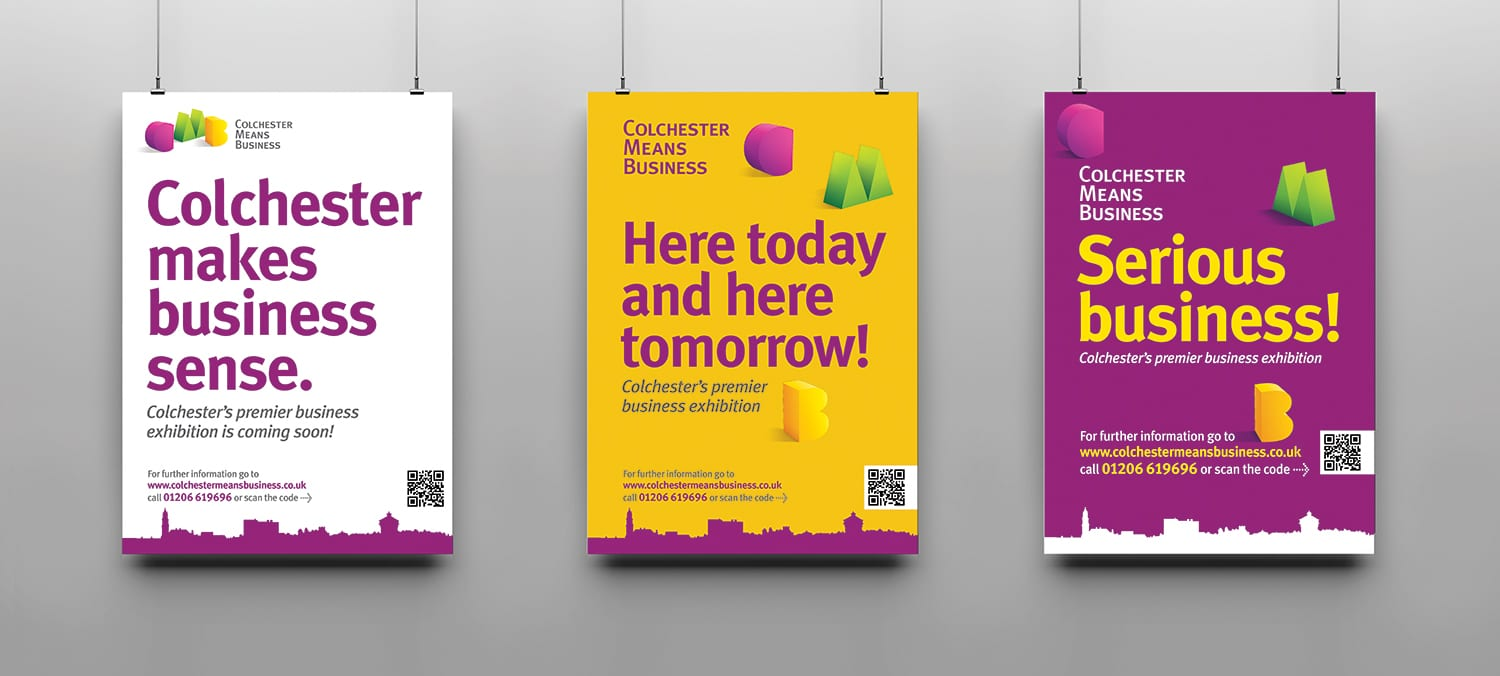 ThreePostersCMB - Colchester,business
