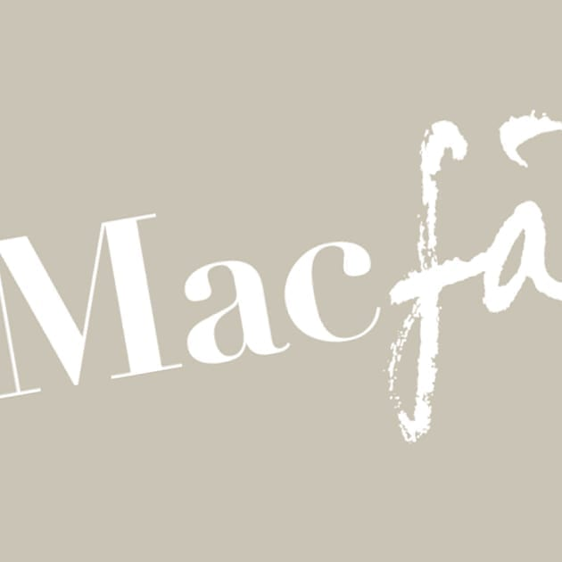 A square crop of the brand mark Macfadyen, which was designed by Puur